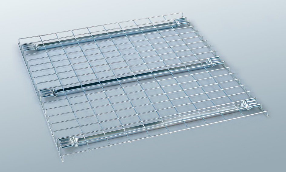 Mesh security doors and panels for enclosing pallet racking | MeshSTOR