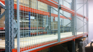 Mesh gates for Pallet racking OfficeSTOR