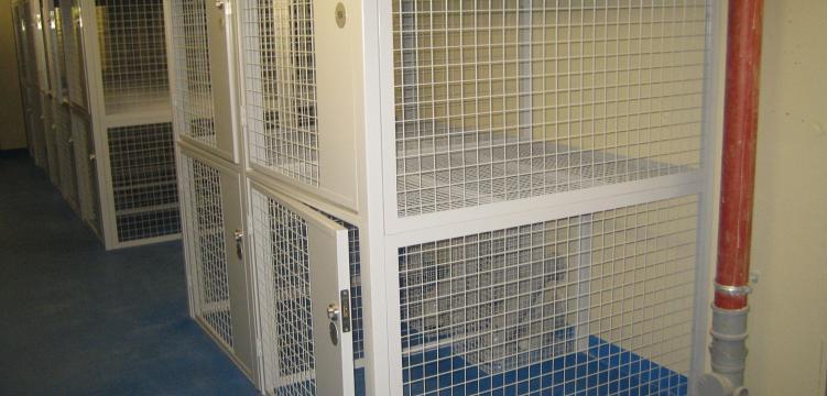 Residential lock up MeshSTOR