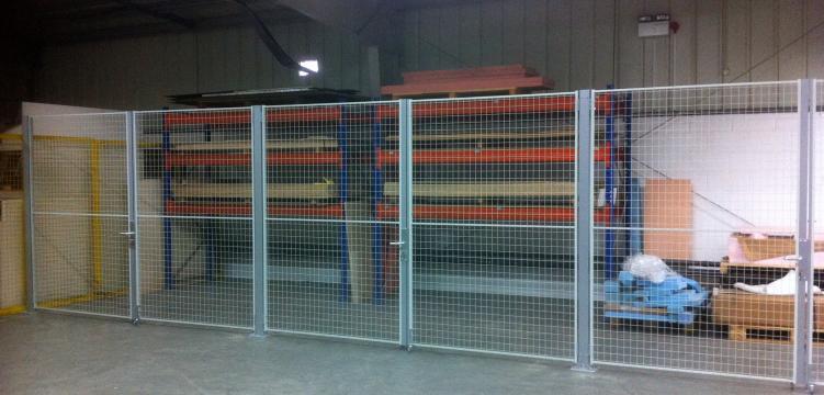 OfficeSTOR mesh 3m doors