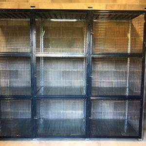 MeshSTOR mesh doors for shelving